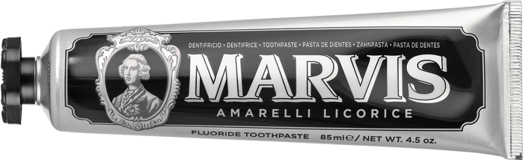 Marvis Dentífrico Amarelli Licorice 85 ml