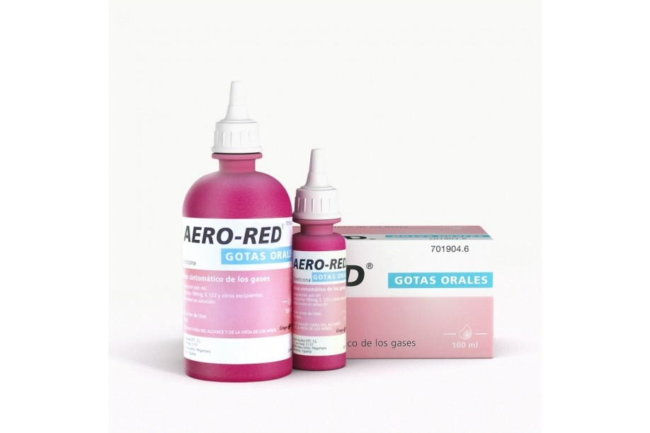 Aero red 100 mg gotas 100 ml
